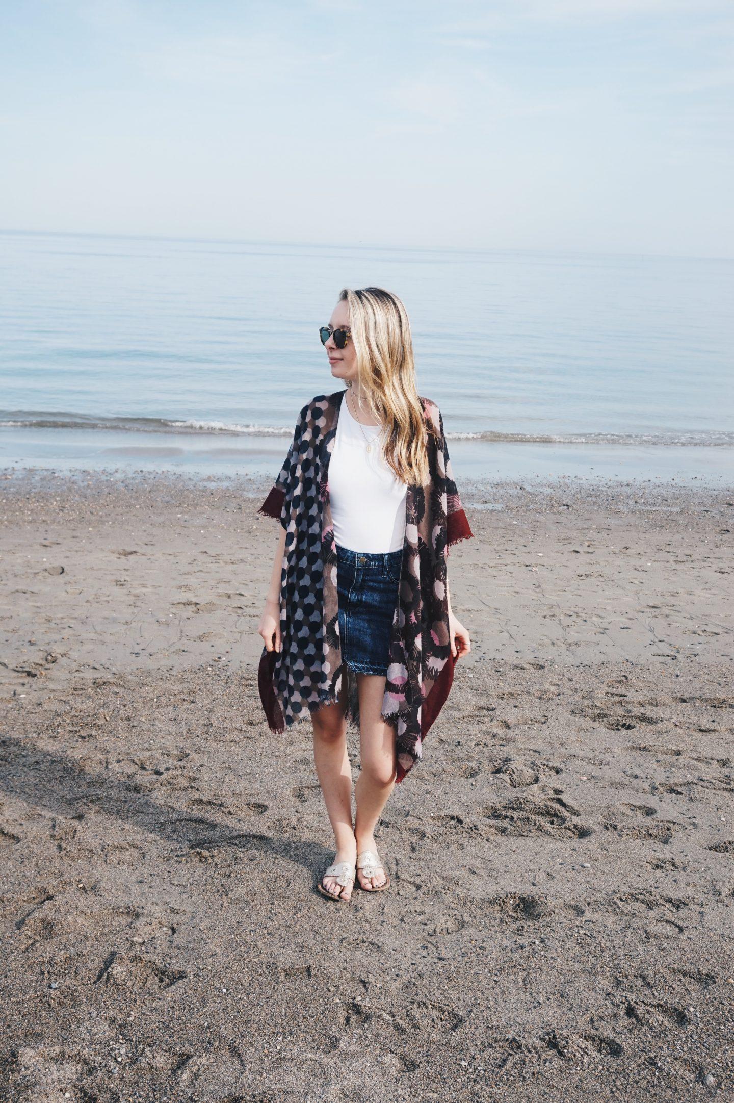 Spring Beach Kimonos