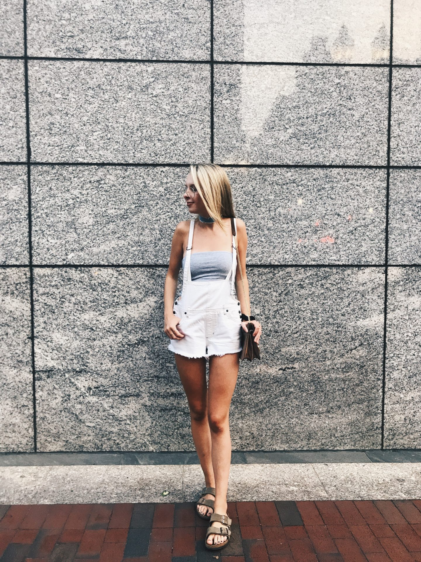 A Styled Overalls Look